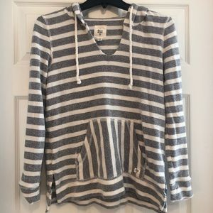 Billabong Striped Hoodie Size S
